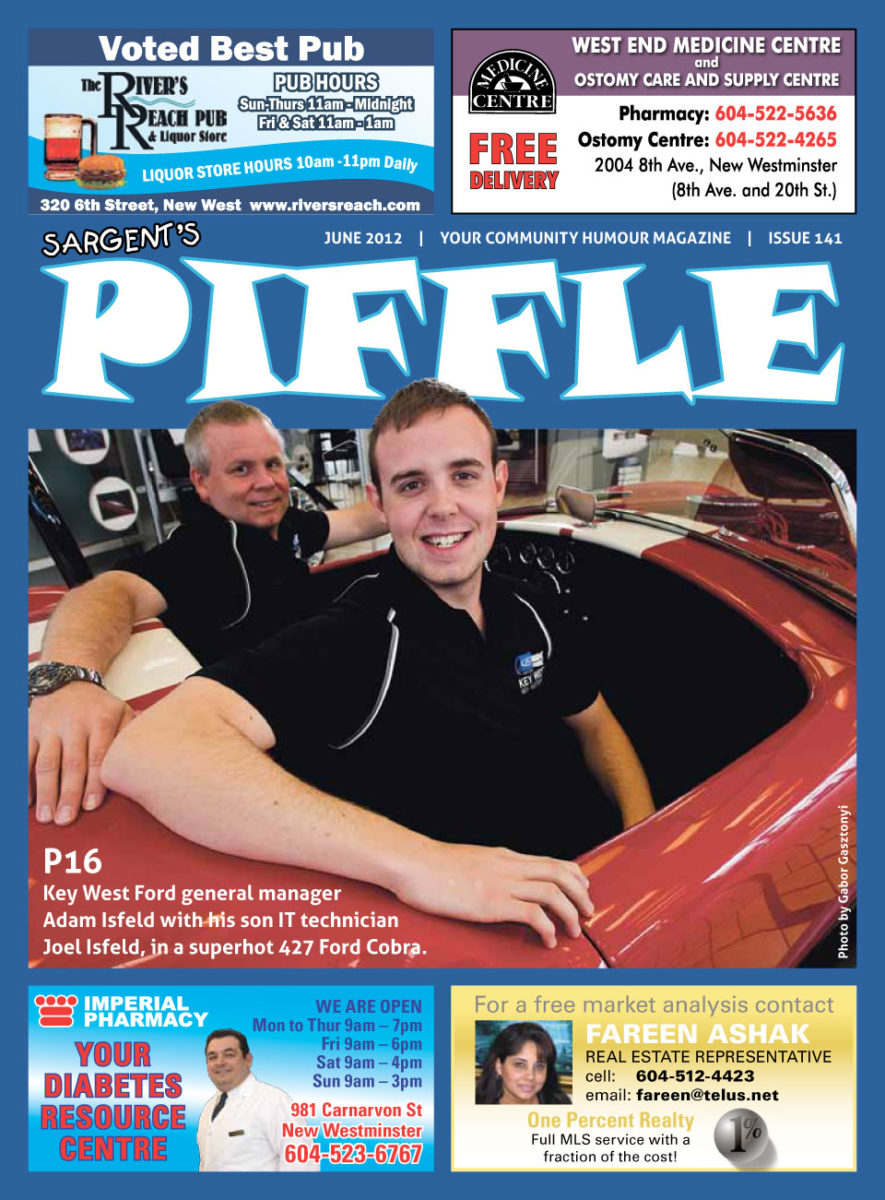 Piffle Magazine June 2012