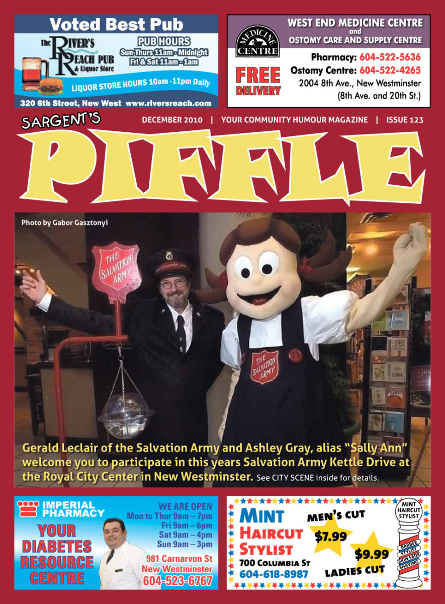 Piffle Magazine December 2010