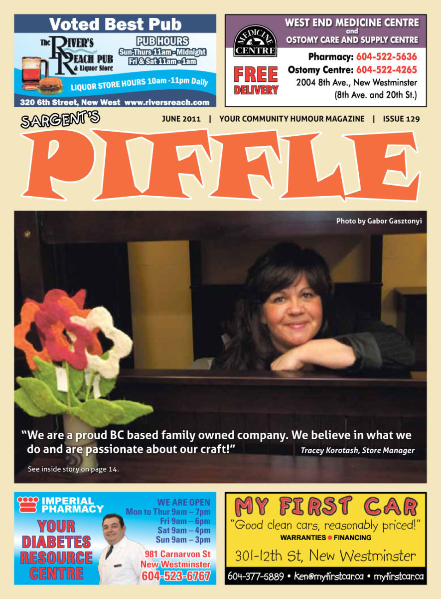 Piffle Magazine June 2011