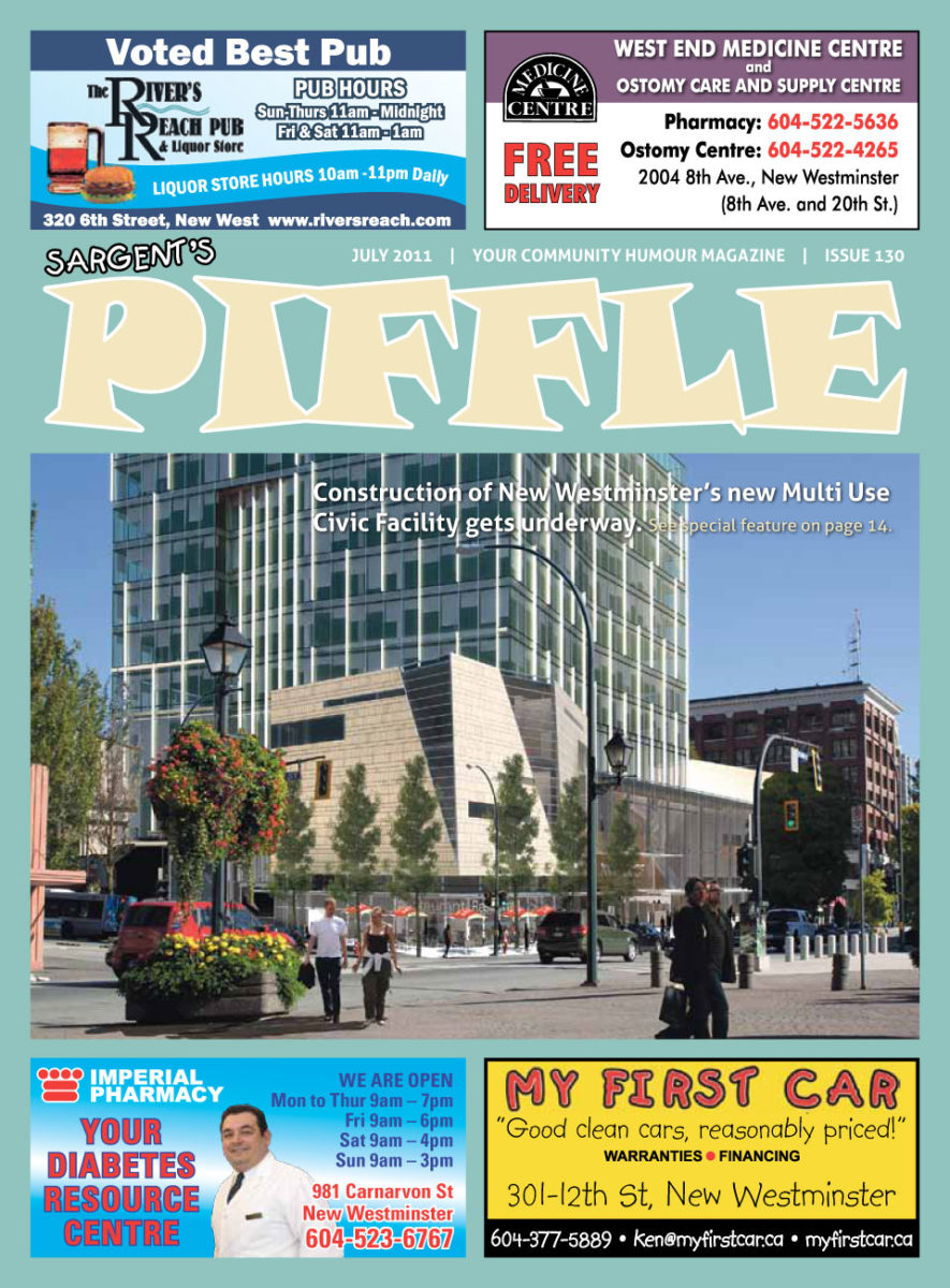 Piffle Magazine July 2011