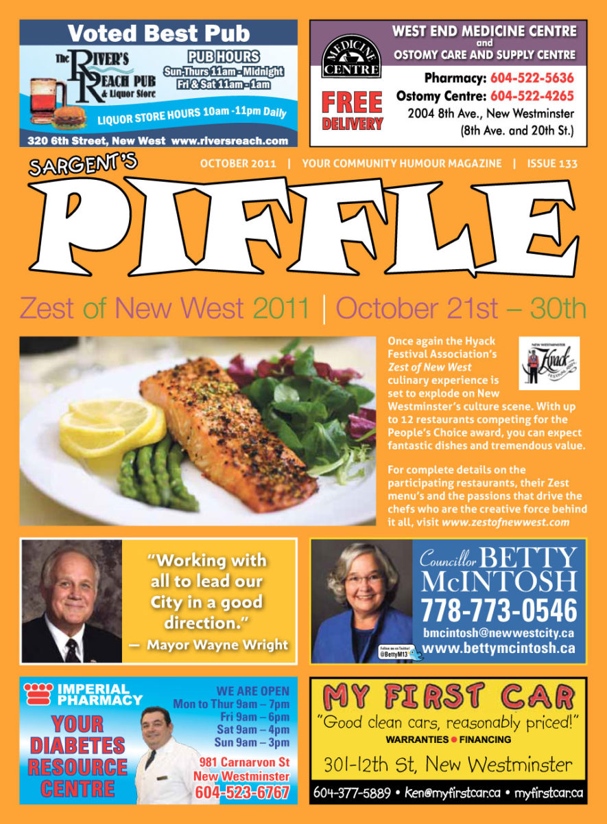 Piffle Magazine October 2011