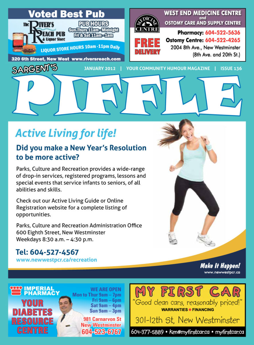 Piffle Magazine January 2012