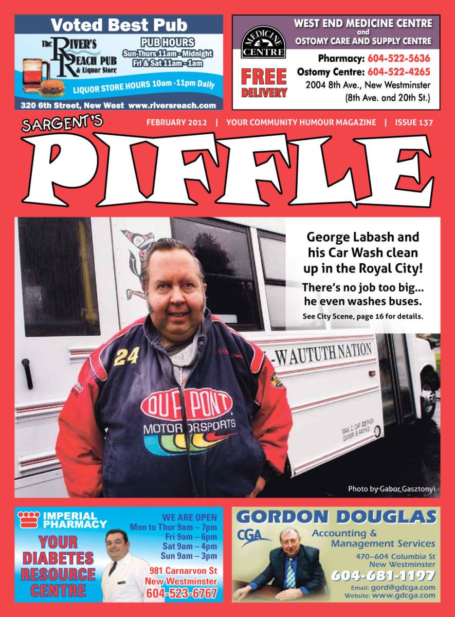 Piffle Magazine February 2012