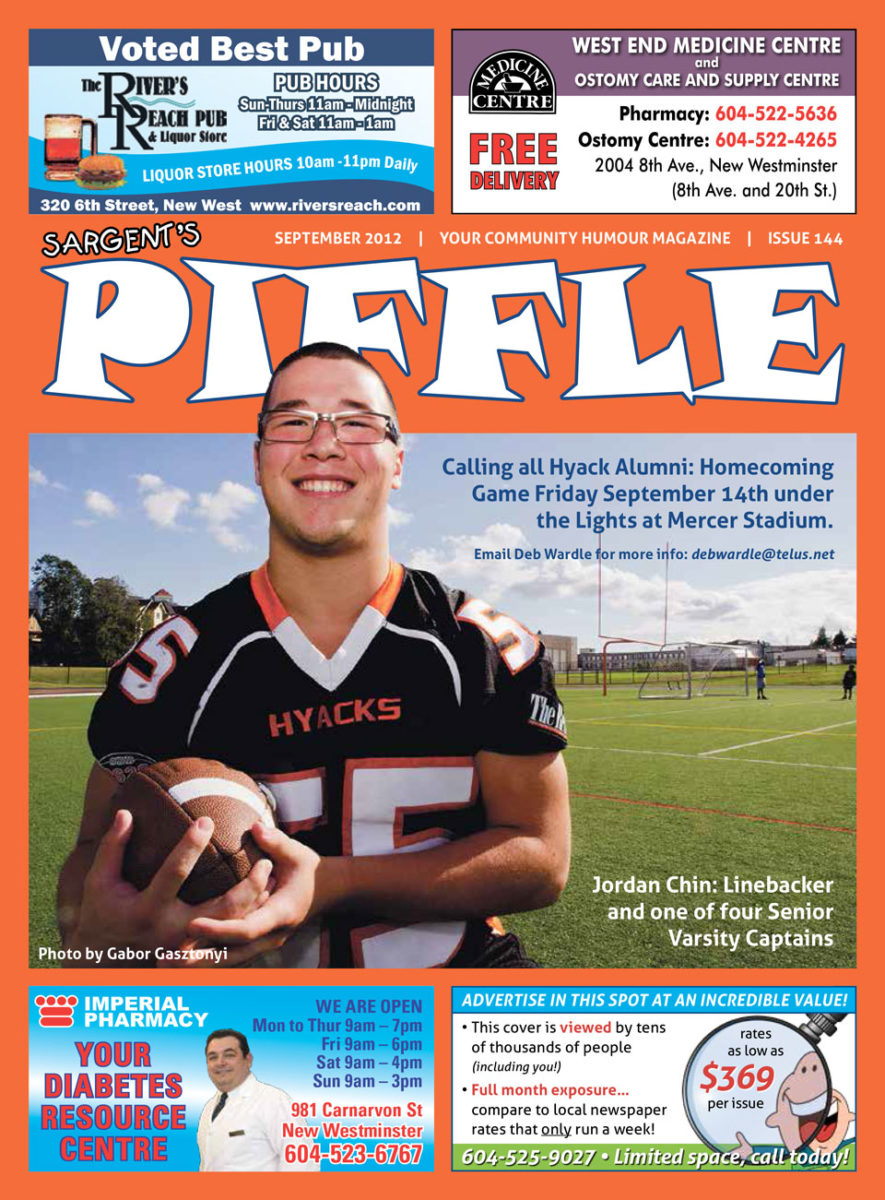 Piffle Magazine September 2012