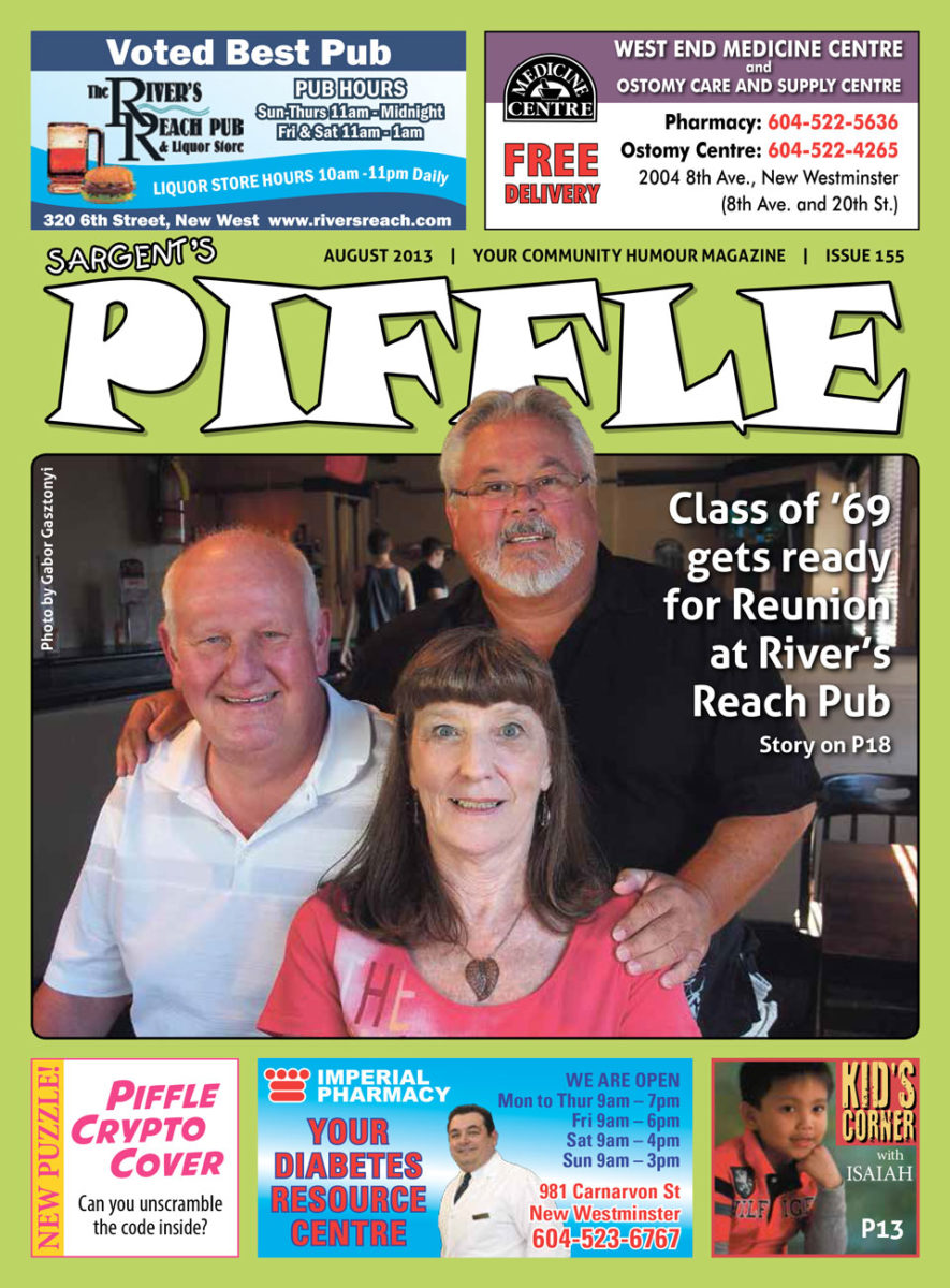 Piffle Magazine August 2013