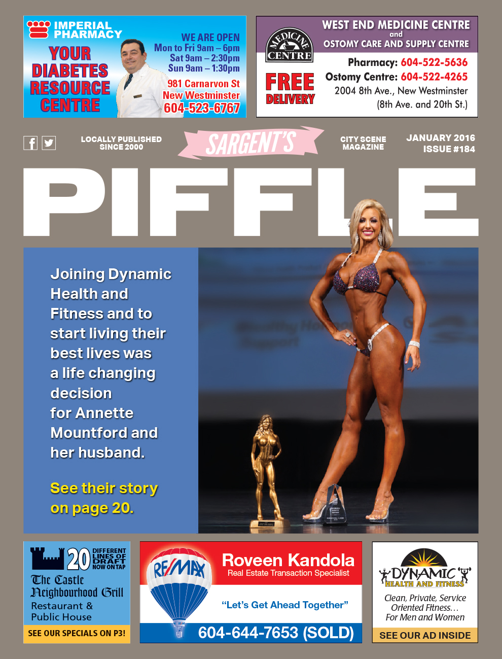 Piffle Magazine January 2016
