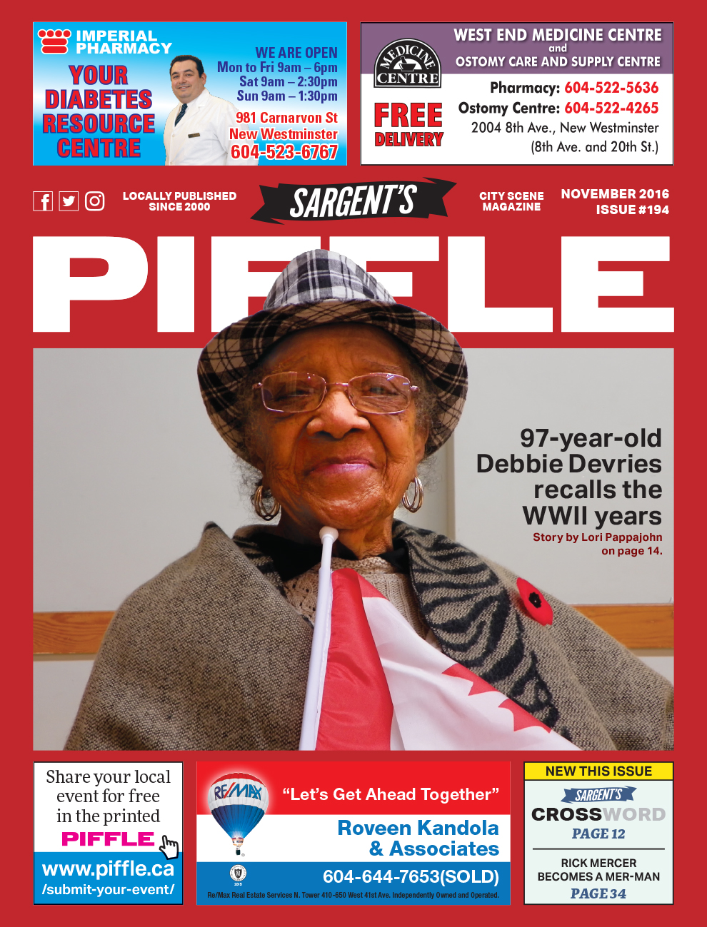 Piffle Magazine November 2016