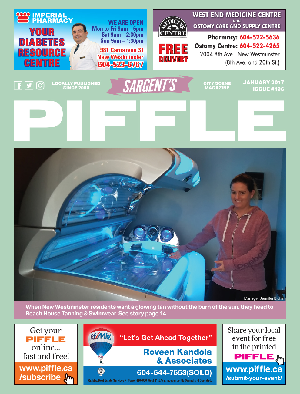 Piffle Magazine January 2017
