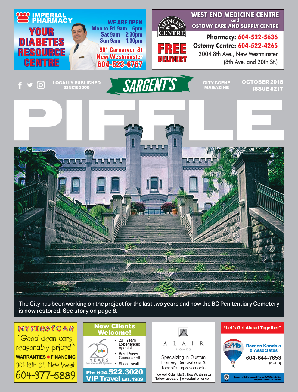 Piffle Magazine October 2018