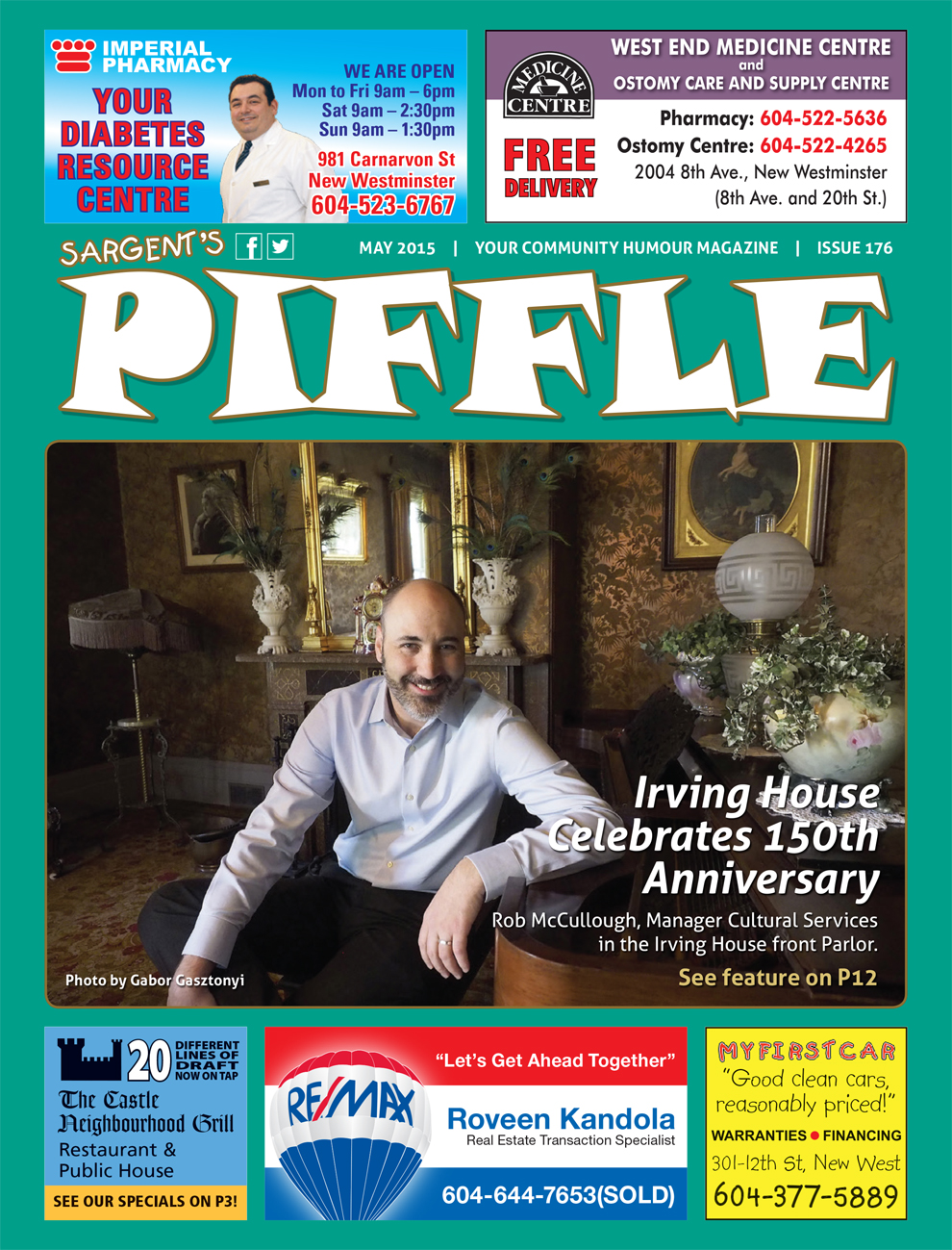 Piffle Magazine May 2015