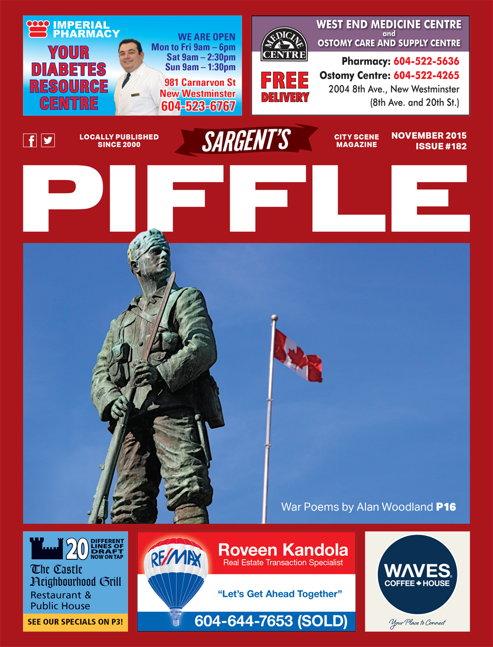 Piffle Magazine November 2015